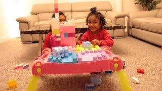 Funny Toddler Play Time with LEGO Blocks | Ishfi