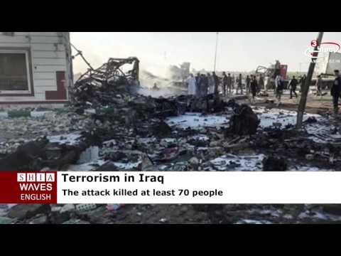 ISIS suicide bomber blows up gas station near Baghdad, killing at least 70