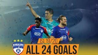 ISL 2019-20 All Goals: Bengaluru FC ft. Sunil Chhetri