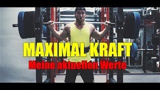 MAXIMAL KRAFT / Karl´s aktuelle Kraftwerte  - Training // Karl-Ess.com