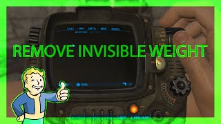 How to remove Invisible Items/Weight - Fallout 4