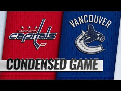 10/22/18 Condensed Game: Capitals @ Canucks