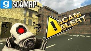 GMod DarkRP - Scam Alert