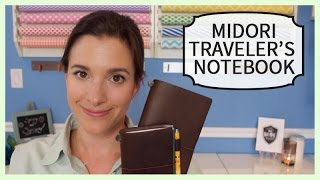 Show & Tell | Midori Traveler's Notebook(I've officially been hooked into the traveler's notebook craze and I wanted to share a look with you! Check out my blog for links and pictures. Thanks for watching ..., 2015-05-02T18:00:02.000Z)