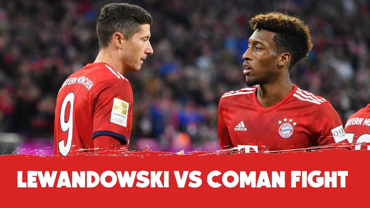 Lewandowski Vs Coman