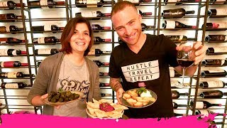 Armenian FOOD & WINE TOUR on SARYAN WINE STREET + Sightseeing   Yerevan, Armenia