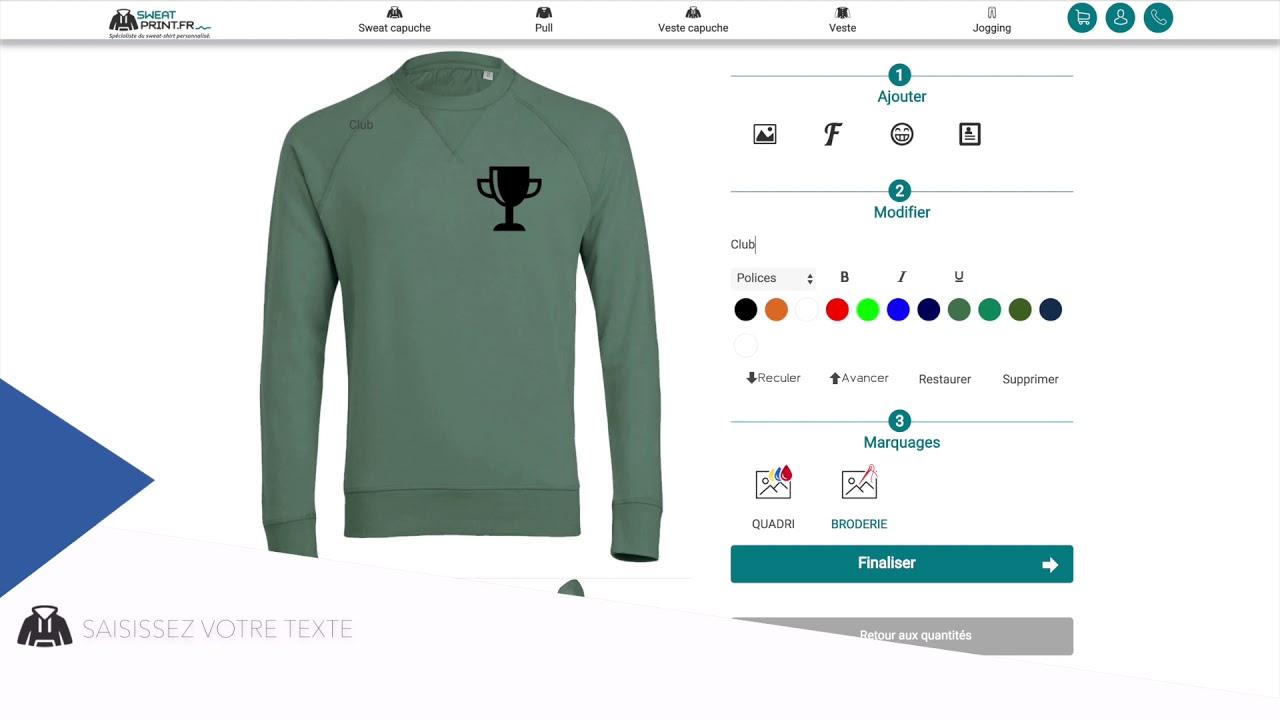 plutôt cool styles divers nouveau design Sweat personnalisé-impression et broderie | Sweat Print