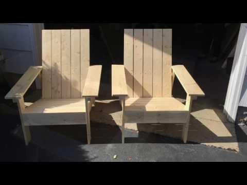 Building Adirondack Chairs
