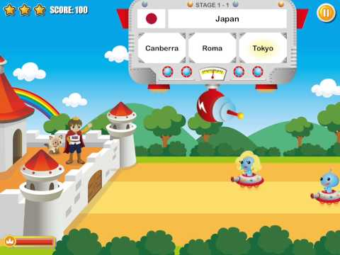 Little Prince Capitals - Educational geography learning game for capitals of the world