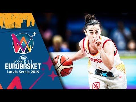 Spain v Serbia - Highlights - Semi-Final - FIBA Women's EuroBasket 2019