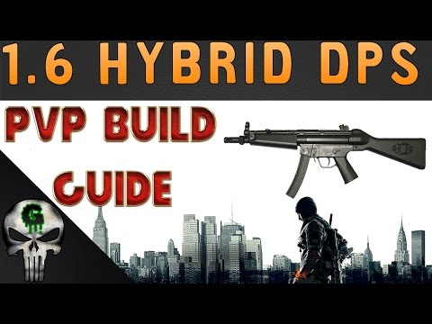 1.6 Future Meta?? | Hybrid PvP Build | The Division |  Last Stand