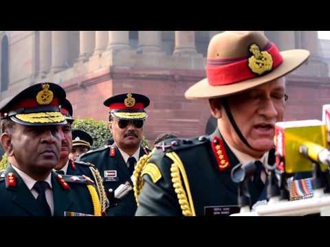 General Bipin Rawat says Lt. Gen. Bakshi & Lt. Gen Heriz will work shoulder to shoulder with him
