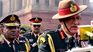 General Bipin Rawat says Lt. Gen. Bakshi & Lt. Gen Heriz will work shoulder to shoulder with him