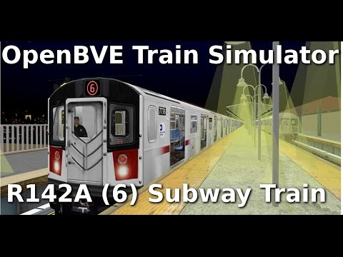 OpenBVE ►R142A | On Board The (6) Subway Train!◀