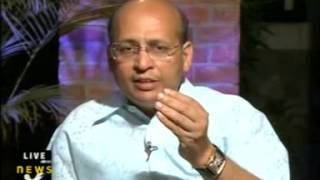 Abhishek Singhvi Interview on 23 Apr 2009 By News X Anchor