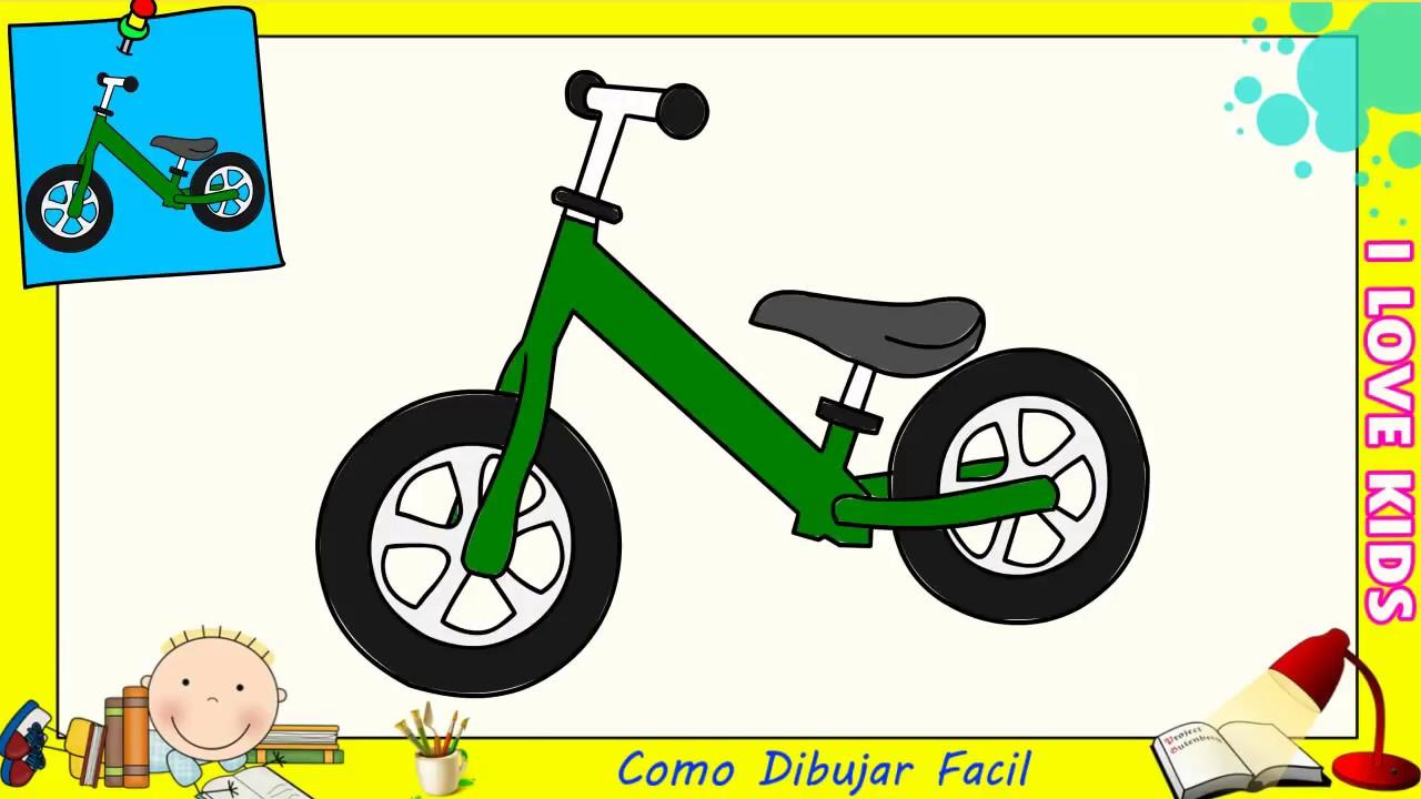 Dibujos De Bicicletas Faciles Paso A Paso Para Niños Como Dibujar Una Bicicleta 1