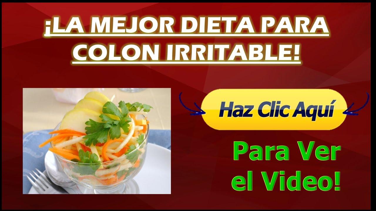 dieta para colón irritable pdf