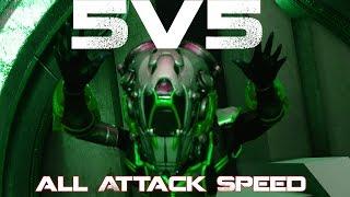 Paragon : 5v5 All Attack Speed | Live Stream Community event