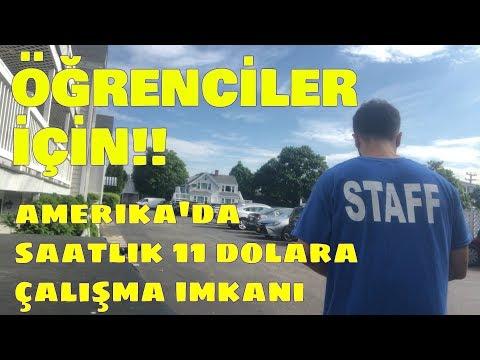AMERİKA'DA ÇALIŞMA FIRSATI - Öğrenciler Mutlaka İzlesin!!