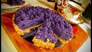 No Bake Ube Halaya TART Recipe