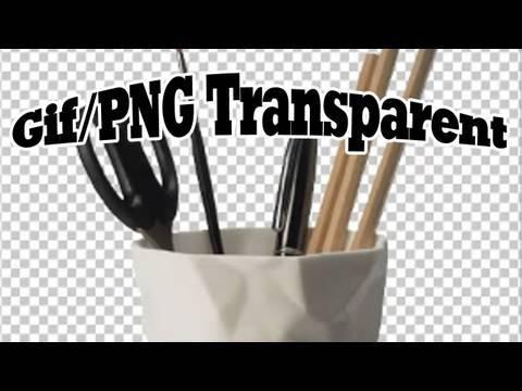 Tutoriel photoshop fr enregistrer PNG fond transparent