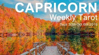 CAPR CORN WEEKLY TAROT  KNOW YOUR STRENGTH CAPR CORN  Sept 30th Oct 6th 2019   Dai