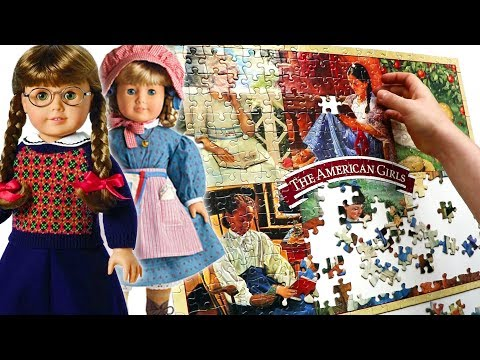Doing An American Girls Puzzle From The 90s!