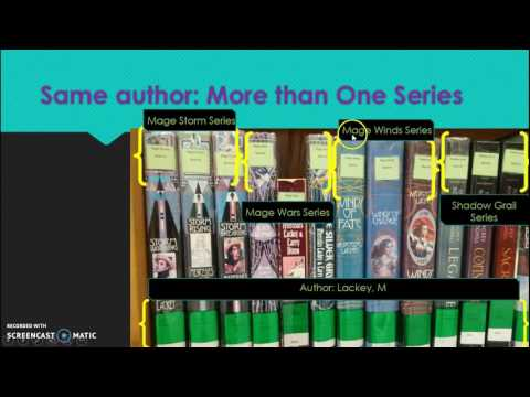 NHS Library Worker Training: Shelving Fiction