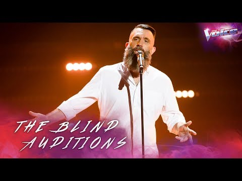 Colin Lillie sings Father and Son | The Voice Australia 2018