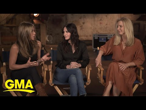 'Friends' cast sits down for first TV interview ahead of reunion l GMA