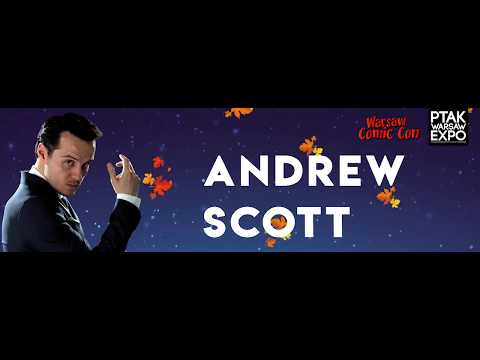Warsaw Comic Con: panel Q&A z Andrew Scott 26.11.2017