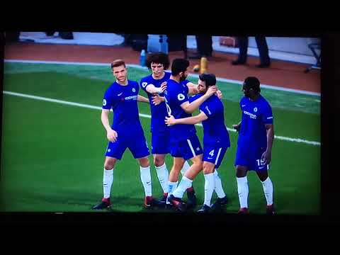 Become A Legend PES 2018 Stoke vs Chelsea 0-3