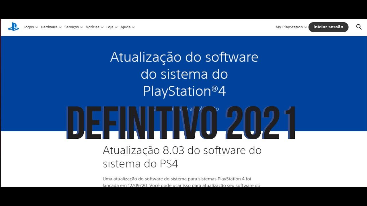 Download ATUALIZANDO OU REINSTALANDO PS4 VIA USB DEFINITIVO 2021
