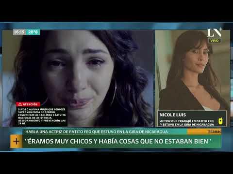 Habla una actriz que compartió la gira de 'Patito Feo' en Nicaragua +INFO