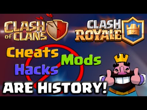 Clash of Clans and Clash Royale Announcement - Cheats and Hacks are History!