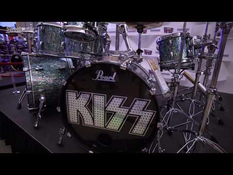 Eric Singer (KISS) New Pearl Drum Kit Tour