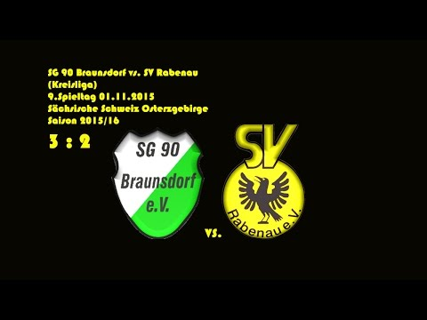 2015-11-01 / 9. Spieltag / Kreisliga A / SG 90 Braunsdorf-SV Rabenau