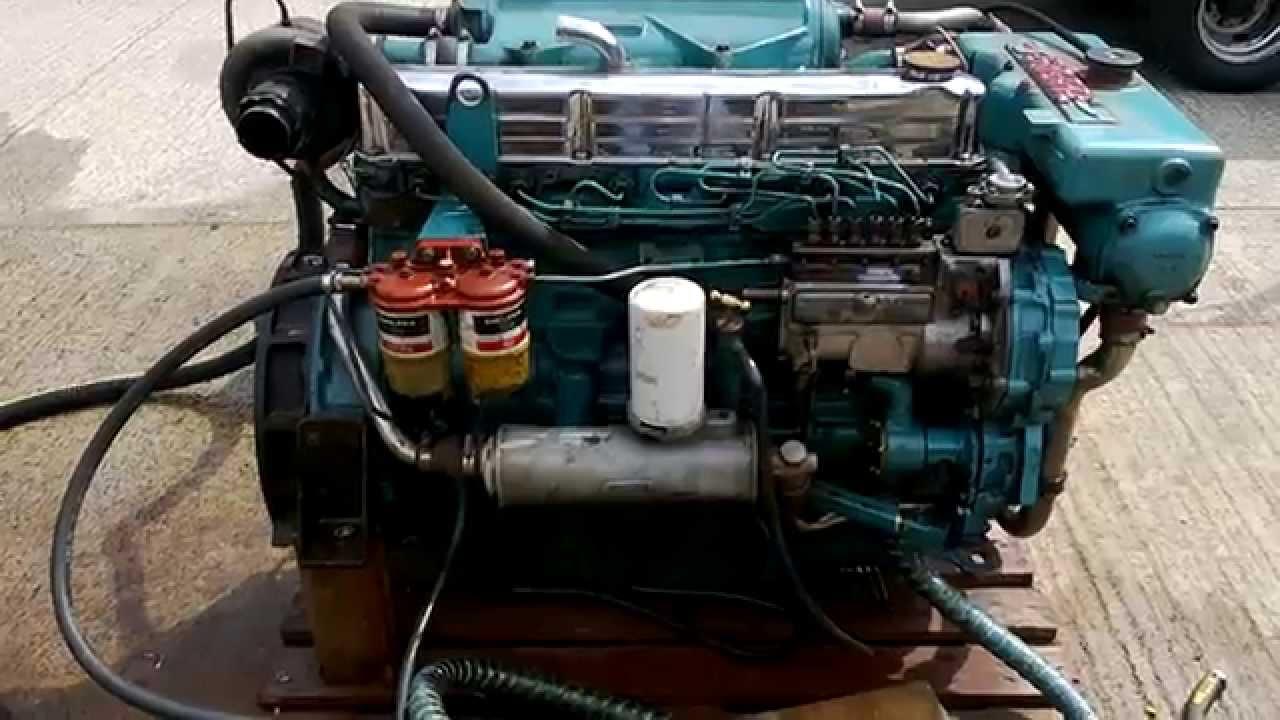Sabre 212c Marine Diesel Engine Youtube