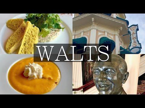 Walt's Restaurant Full Review in Disneyland Paris! Tips, Food
