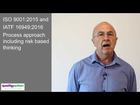 ISO 9001 2015 and IATF 16949 2016 Process approach including risk based thinking