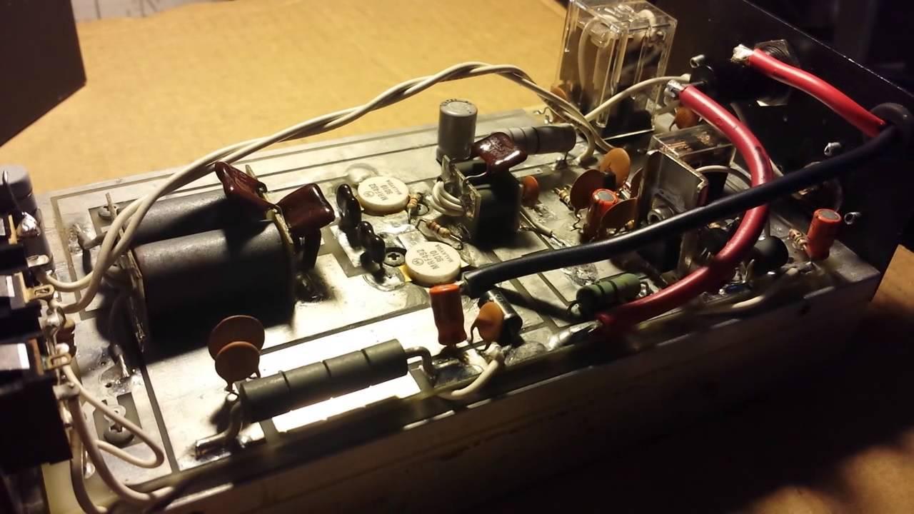 Palomar 300A AB 2xMRF492 Repair & Output Test