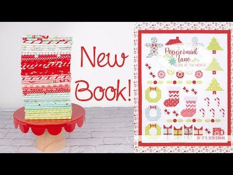 Peppermint Lane BOM Book by It's Sew Emma - Fat Quarter Shop