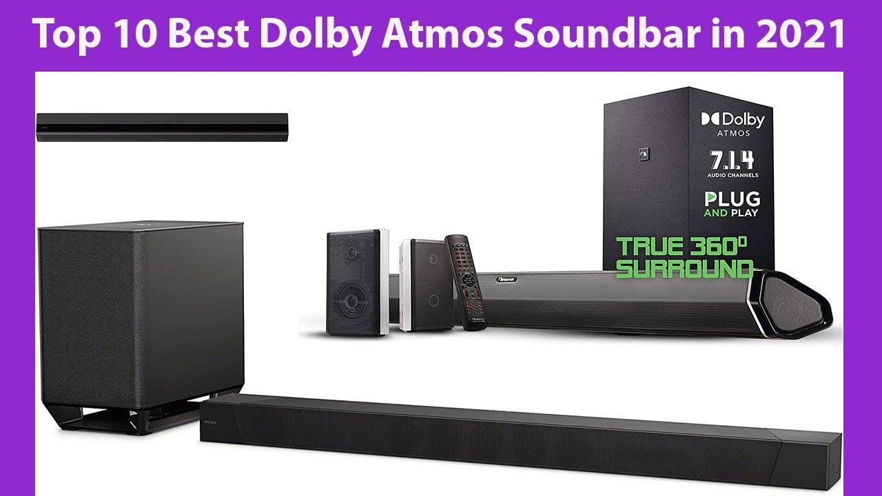 Top 10 Best Dolby Atmos Soundbar in 2021 - YouTube
