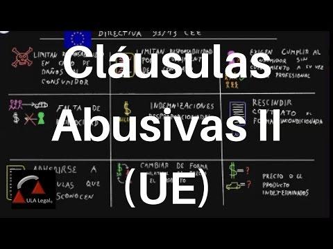 cláusulas-abusivas-ii-(ue).-derecho-mercantil
