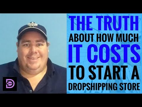 (Day 29) The Truth About How Much It Costs To Start A Drop Shipping Store - Dropship Social