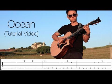 Ocean - Alok Zeeba & IRO  Vídeo TablaturaFree Guitar Tabs Rodrigo Yukio