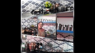 Kitchen Organizing Tips/Kitchen Organization Ideas in Tamil/Kitchen Tour/What is in My Kitchen