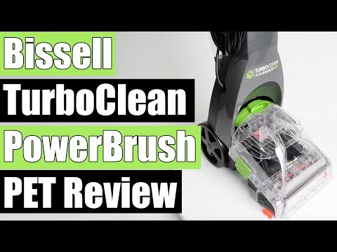 BISSELL Turboclean Powerbrush Pet Upright Carpet Cleaner REVIEW 2085