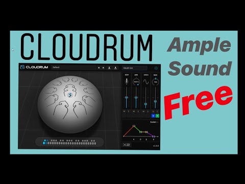 Ample Percussion Cloudrum by Ample Sound (FREE VST instrument)