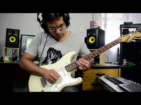Adventure of a lifetime - electric guitar cover - Coldplay
